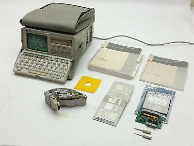 HP Hewlett Packard 4957A Compact Portable Protocol Analyzer +Utilities w Manuals