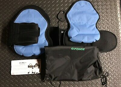 G-Force Cryo Back Brace / Black, Blue. New.