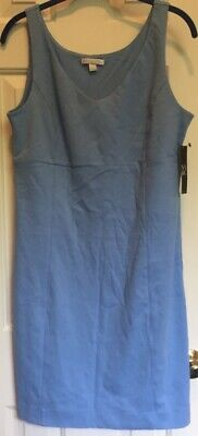 Women's Sky Blue Newyork & Company Dress Size Medium New With Tags