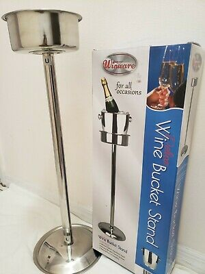 Wine Bucket Stainless Steel, Works with Stand 628-020