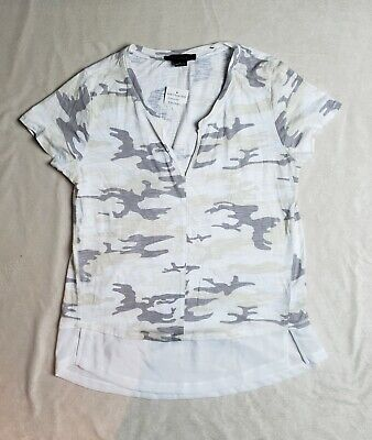 NWT Women's - Sanctuary Camo Short Sleeve Shirt, Size Medium
