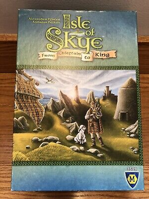 Isle of Skye (English) Board Game Complete! From Chieftain To King