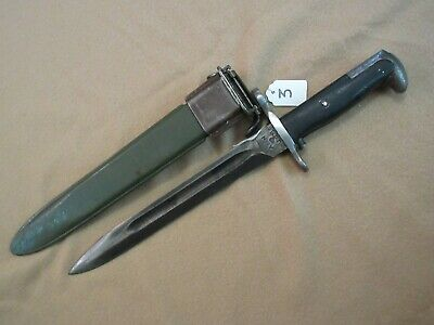"Ww2 Era Us M 1 Bayonet For Garand Or 03  Springfield 10"" Mfg By Afh 3"