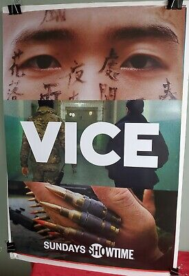 VICE Showtime Series Poster Brand New
