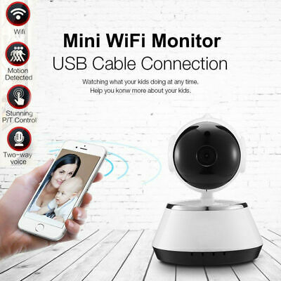 Wireless Wifi HD 720PSecurity IP Camera Baby Pet Cam w/ iOS/Android Pan Tilt