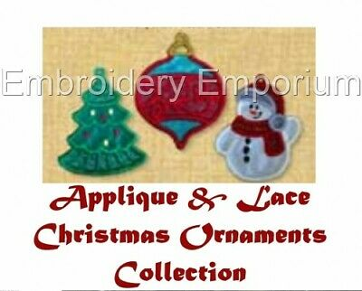 Christmas Freestanding Lace Ornaments Machine Embroidery Designs On Cd Or Usb Eur 12 08 Picclick It