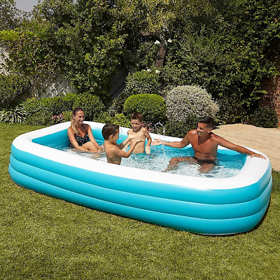 Large Family Swimming Pool Garden Outdoor Summer Inflatable Kid Paddling