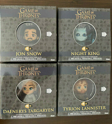 All 4 Game of Thrones Funko 5 Star Figures Tyrion, Night King, Dany, Jon Snow