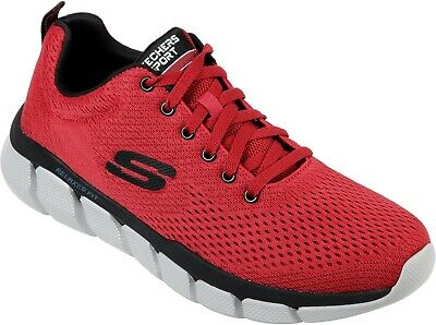 SKECHERS SKECH FLEX 3.0 VERKO Mens Woven Knit Memory Foam