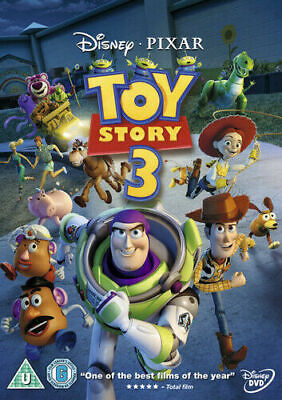 Toy Story 3 DVD (2010) Lee Unkrich, Tom Hanks, Tim Allen, cert U