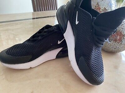Boys Nike Black Trainers Main Draw Tab Fasteniing School Shoes Size 5 New £21.99