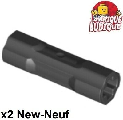 Tube 2L rouge, red 6 x LEGO 62462 Connecteur Double Pin Connector NEUF NEW