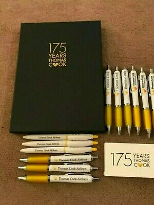 Brand New Thomas Cook Pens Set Of 3 Collectables And Memorabilia
