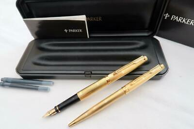 Parker Authentic Insignia Ball Pen Burgundy with box Slightly discolored