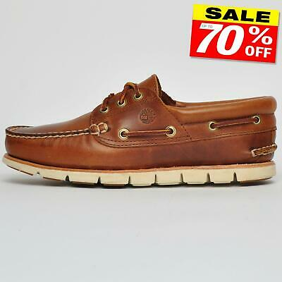 TIMBERLAND TIDELANDS CLASSIC 3 Eye Moccasin Men's Leather