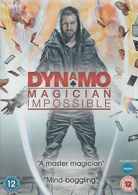 Dynamo Magician Impossible Series 1 - NEW Region 2 DVD