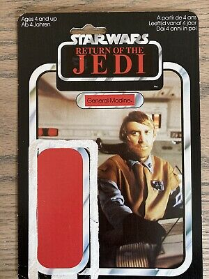 VINTAGE STAR WARS REPRODUCTION RETURN OF THE JEDI STAFF GENERAL MADINE