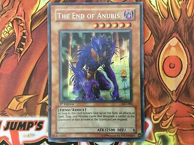 Unlimited Edition Lightly Pla AST-000 Secret Rare YuGiOh The End of Anubis
