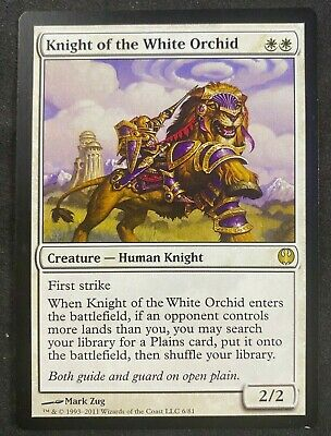 Duel Decks 1x NM Knight Exemplar Knights vs Dragons MTG