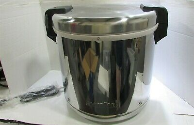 AMKO SEJ-22000 - ELECTRIC RICE Warmer Has Dent