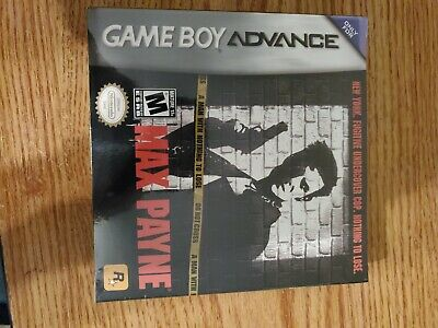 Max Payne Gameboy Advance Gba Instruction Manual Only No Game For Sale Picclick