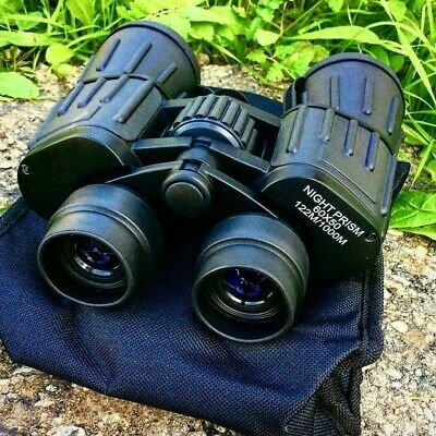 60x50 Day/Night Military Army Zoom Binoculars Optics For Outdoor Hunting Camping