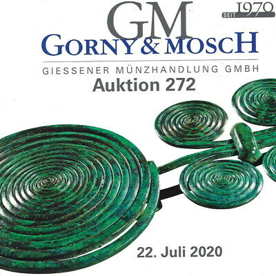 GORNY&MOSCH Antiquities CURRENT 7/22 Auction 272 Ancient Greek Roman Art Catalog
