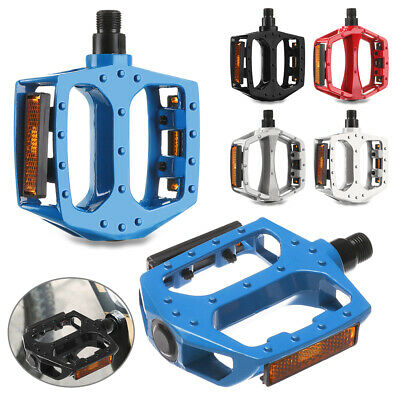 Metal Aluminium Alloy Bike Bicycle MTB DH XC BMX Pair Pedals Multiple colours