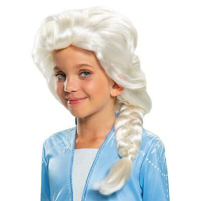 Disney Frozen 2 Elsa Child Blonde Wig Licensed Costume Accessory Disguise