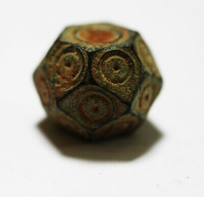 Zurqieh - As17936- Ancient Byzantine Bronze Weight Of 1/2 Uncia. 6Th - 8Th A.d