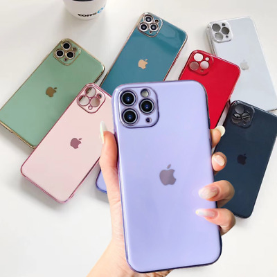Case for iPhone 11 PRO MAX X XR XS 8 7 SE 2 Liquid Phone Cover Silicone Genuine