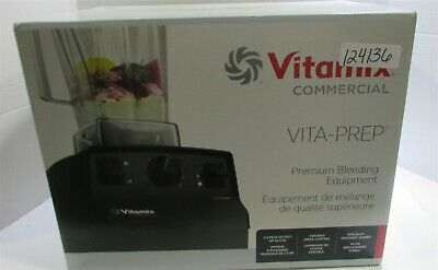Vitamix 62827 Vita-Prep 2.3 hp Blender with 64 oz. Container, Black, Powerful