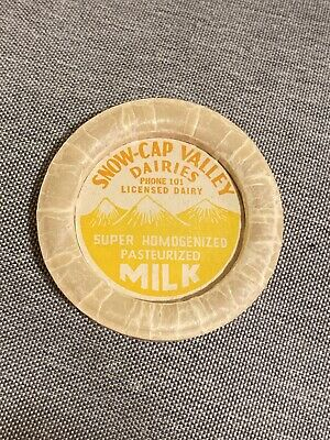 50s $1 Mail 40s OH 5 Different unused Milk Caps Milkcaps 2 Marked Youngstown