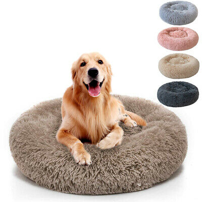 Small Large Pet Dog Puppy Cat Calming Bed Cozy Warm Plush Sleeping Mat Kennel