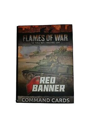 RED BANNER COMMAND CARDS NOW WW2 FW250C FLAMES OF WAR