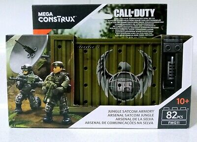MEGA CONSTRUX CALL OF DUTY SOLO INFANTRY ARMORY FXW81 /& ARCTIC RECON ARMORY
