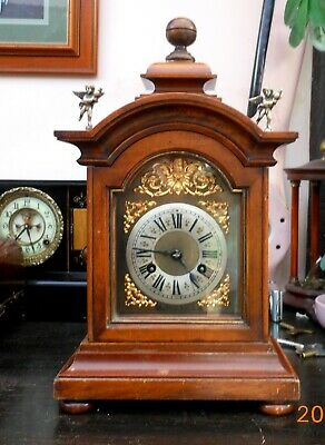 Antique Junghans mantle clock recently serviced