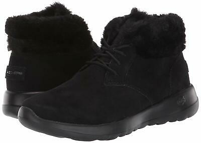 SKECHERS ON THE Go Joy Bundle Up Suede Women Ankle Winter