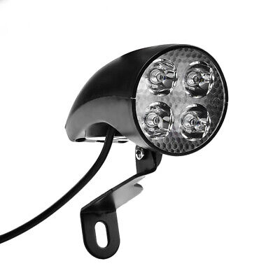 E-bike Bicycle Headlight Led Light Lamp 36-48V Fit For Lithium Electric Vehicles