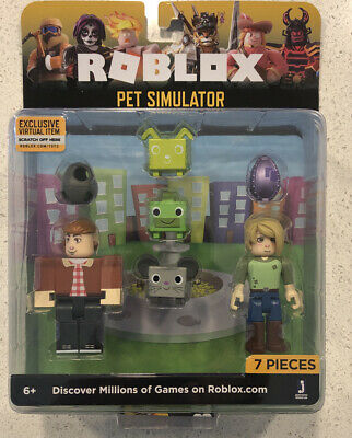 SEALED ROBLOX Celebrity Action Figures Accessories PET SIMULATOR 2 Pack