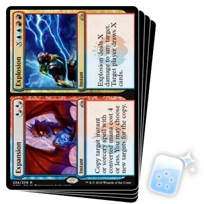 4x Expansion//Explosion GRN Guilds of Ravnica MTG Magic the Gathering