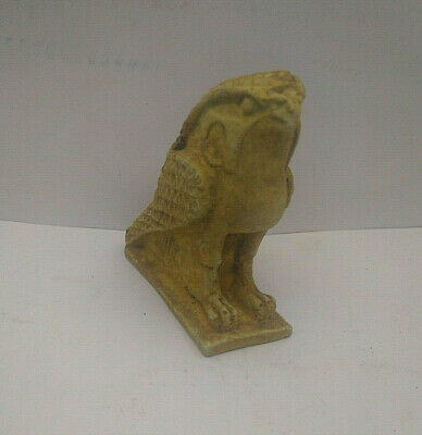 ANCIENT ANTIQUE EGYPTIAN HORUS Statues Amulet Antique 1698-1452 BC