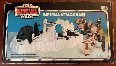Vintage Replacement Star Wars Vintage Imperial Attack Base Stickers Labels