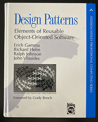 Design Patterns Elements Of Reusable Object Oriented Software By Erich Gamma E 62 54 Picclick