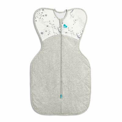 Brand new Love to dream swaddle up warm 2.5 tog Moon stars small 3.5 to 6 kg