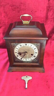 Small English Gong Striking Clock By Smiths
