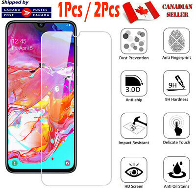 Samsung Galaxy A70 A50 A20 A10e A20s A31 A71 A51 Tempered Glass Screen Protector