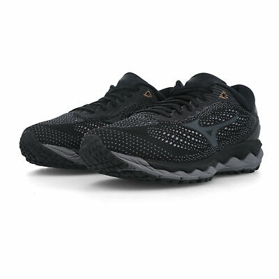 MIZUNO MENS WAVE Prophecy 8 Running Shoes Trainers Black