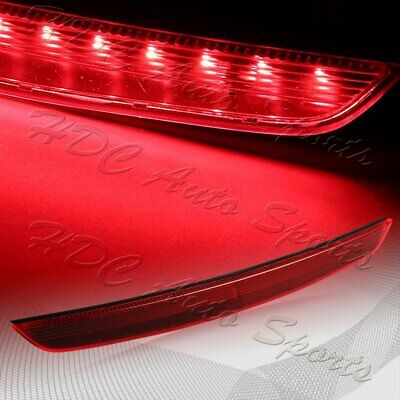 For 2007-2014 Audi TT MK2 LED Red Lens High Level Center 3RD Brake Stop Light