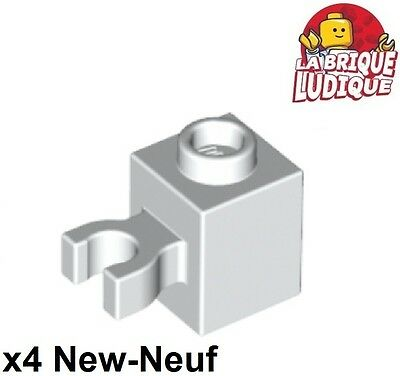 medium nougat Lego ® 10x Stein 1x1 mit Clip 30242b brick with clip